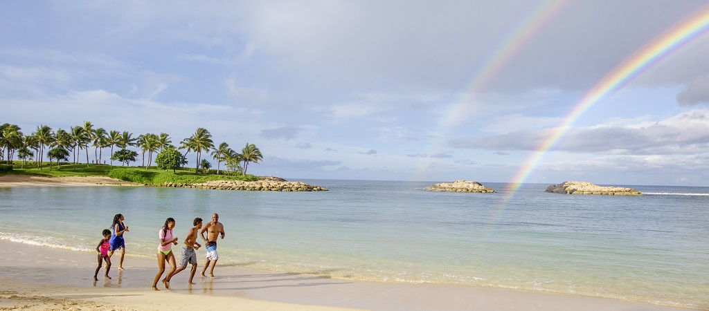Rainbows on the Beach