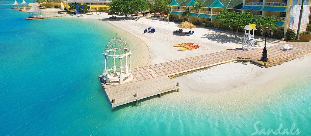 Beach Resort Dock