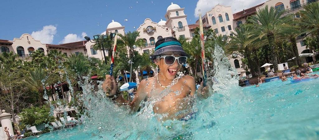 Hard Rock Hotel Pool Boy
